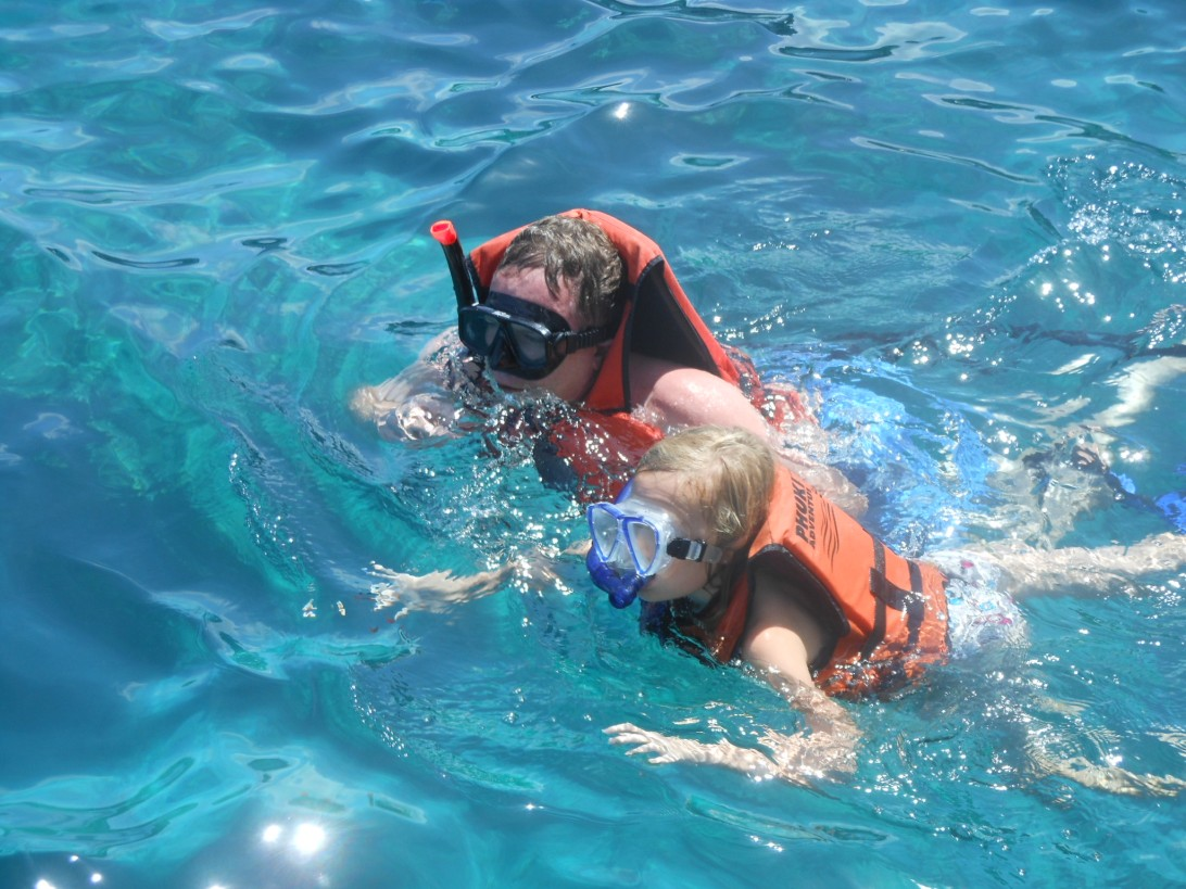 Snorkeling Phi Phi Thailand