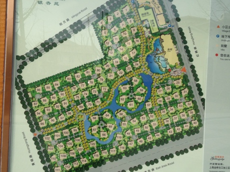 This layout of our development show coming clubhouse and pool.  If you can see it, we are #23.