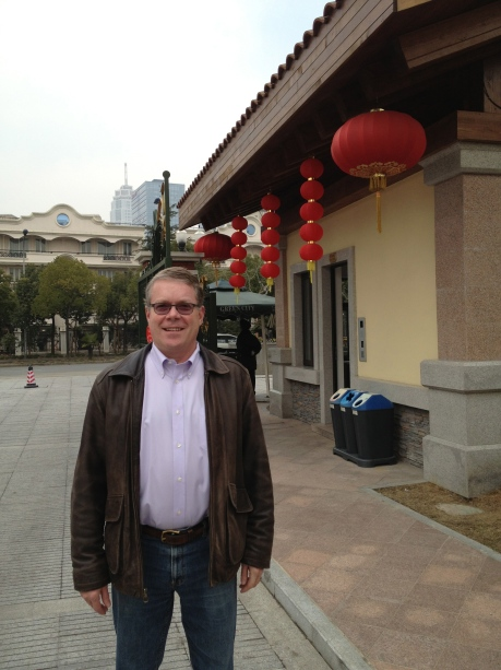 These red lanterns are everywhere in Shanghai, celebrating Chinese New Years.