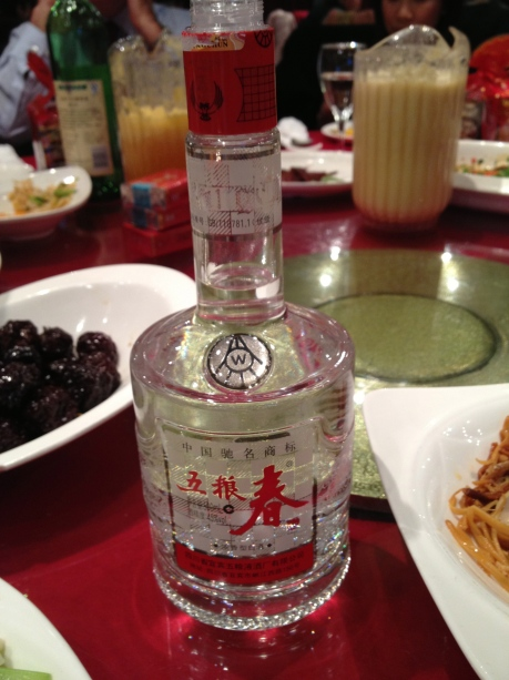 The dreaded Baijiu and it's enabler, the lazy Susan.