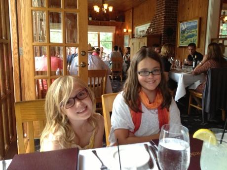 Dinner at the Riverside Inn in Leland.