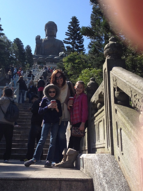 The ladies and the Big Buddha