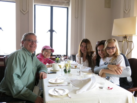 A fun brunch with our good friend from L.A. Jenn Banovetz at the Cathay Room of the Peace Hotel in Shanghai