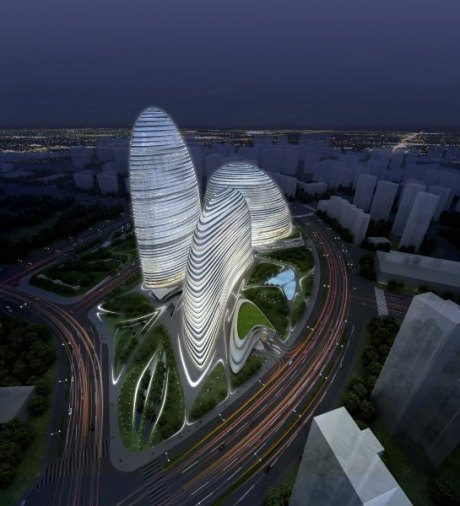 Wangling SOHO in Beijing (Zaha Hadid Architects)