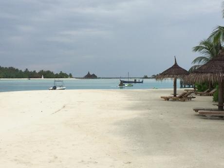 The Maldives beaches are beyond description.