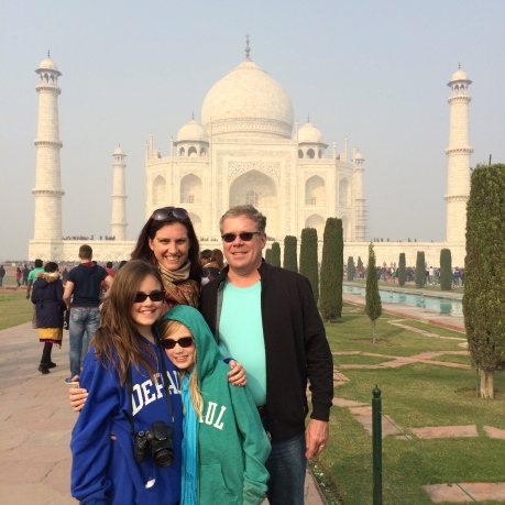 We made it to the Taj Mahal!