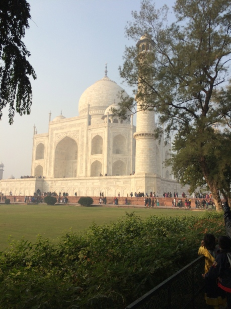 The epic Taj Mahal.
