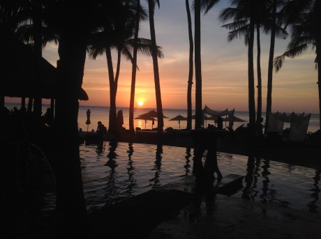 Another gorgeous sunset at the Shangri-La Boracay.