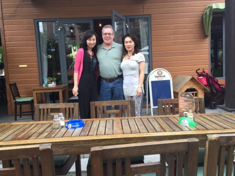 Last Shanghai lunch (for now) with two great friends, Sandy and Christina.
