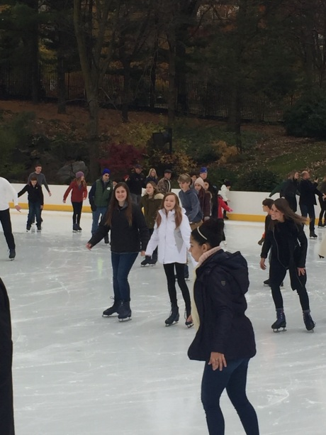 We have done some traveling in the U.S. since we repatriated, including NYC where the girls went skating in Central Park.